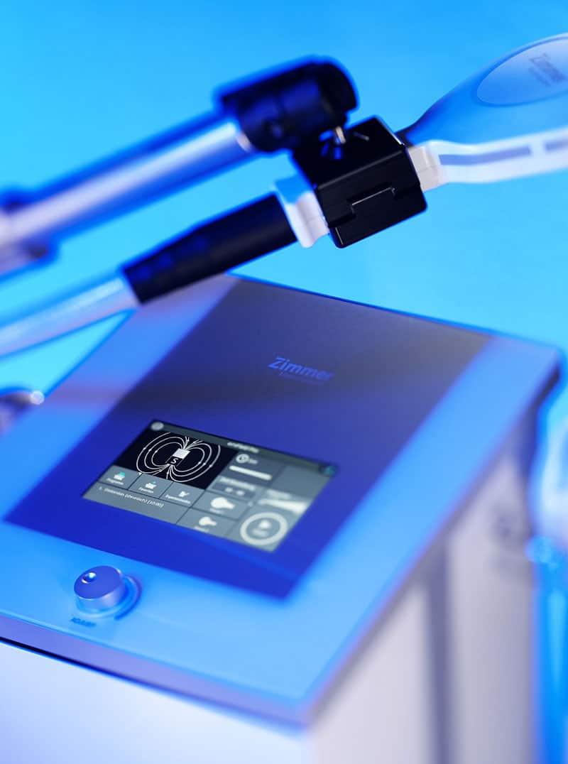 Die Hochenergie-Induktionstherapie von Zimmer MedizinSysteme ist ideal zur Behandlung von Schmerzen