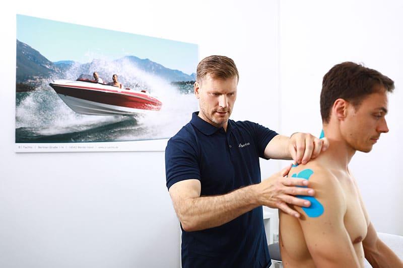 Physiotherapie und Sporttherapie in Potsdam Babelsberg